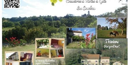 Les Conches Chambres d'hôtes et Gite LES CONCHES, Chambres d`Hôtes Thiviers (24)