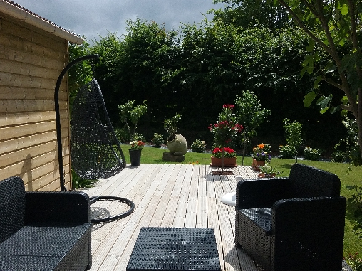 Chambre d'hote Côtes-d'Armor - la terrasse