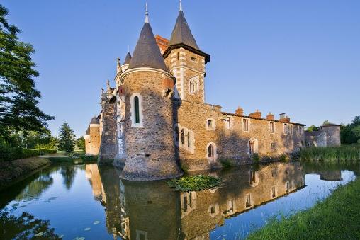 Château de La Colaissiere, Chambres d`Hôtes Saint Sauveur De Landemont (49)