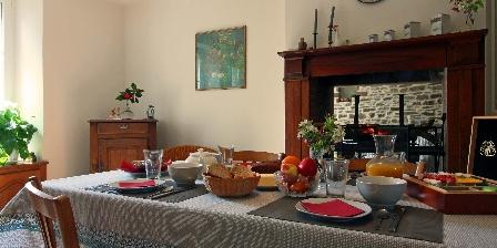 Domaine de L'Etre Salle du petit déjeuner