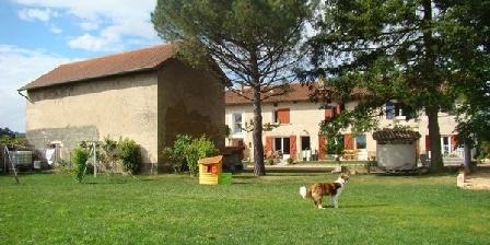Les Chambres d'Agathe  Les 4 chambres d'Agathe en Beaujolais (entre LYON et BEAUNE), Chambres d`Hôtes Belleville Sur Saone (69)