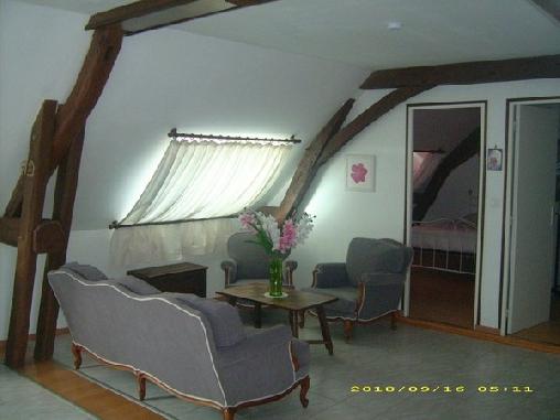 Chambre d'hote Sarthe - La Ferme du Verger, Chambres d`Hôtes Ecommoy (72)
