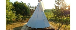Bed and breakfast Le Tipi D'embon