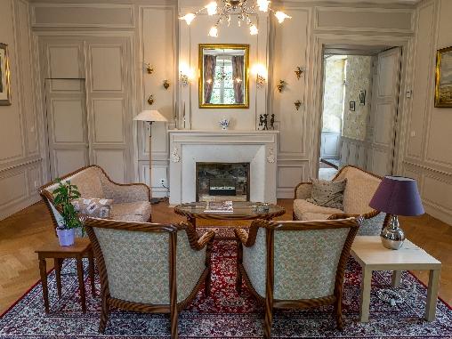 Chambre d'hote Indre-et-Loire - Le salon