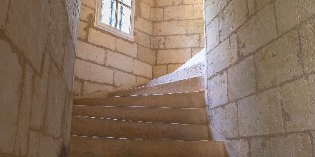 Château D'isore Escalier du 15ième