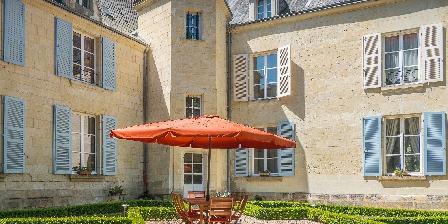 Château D'isore La terasse