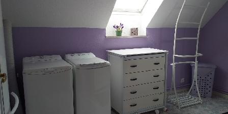 Gîte-Halmer La salle de bain