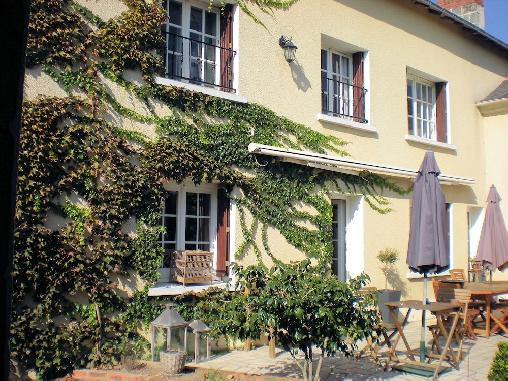 Le Clos de La Brète, Chambres d`Hôtes Cizay La Madeleine (49)