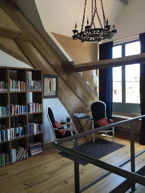 Chambre d'hote Allier - Shenmen, coin de lecture