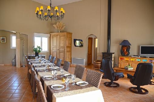 Villa des Cammaous, Chambres d`Hôtes Vacquières (34)
