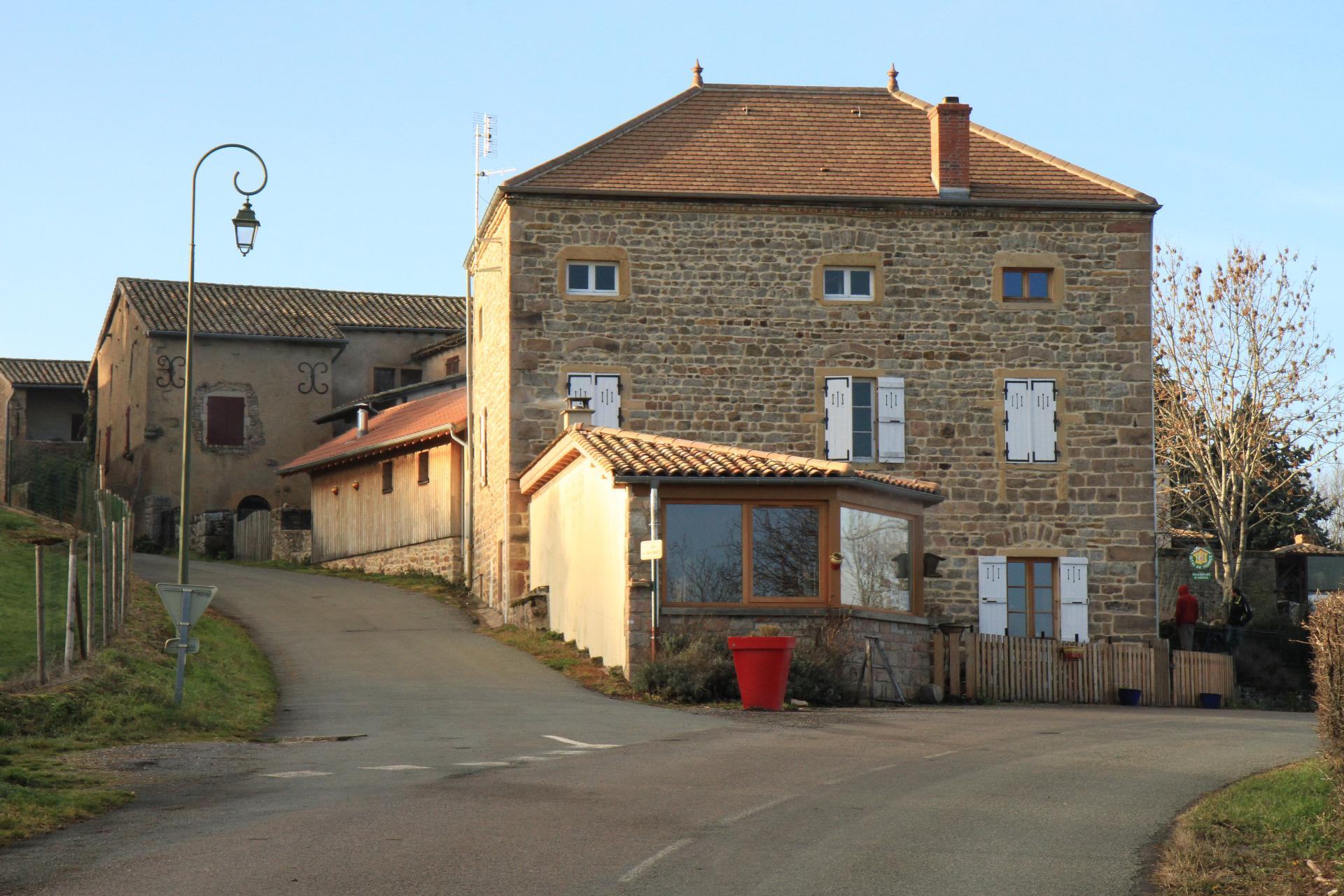 maison bois 71