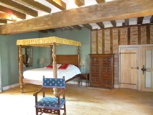 Chambre d'hote Indre-et-Loire - Manoir De La Touche, Chambres d`Hôtes Azay-le-rideau (37)