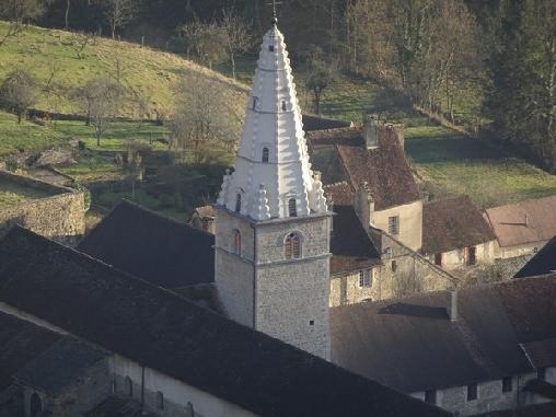 Chambre d'hote Jura - Presbytère Saint Jean, Chambres d`Hôtes Baume Les Messieurs (39)