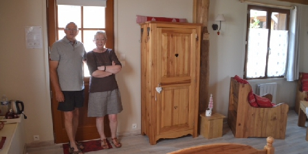 Notre Petite Maison Antonin et Colette,propriétaires