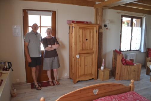 Antonin et Colette,propriétaires