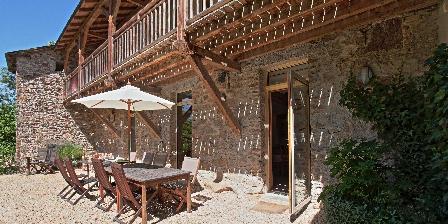 Chambre d'hotes Moulin de Limayrac > Terasse