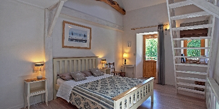 Moulin de Limayrac Chambre Hiver, lit en 160 et 2 lits en 90