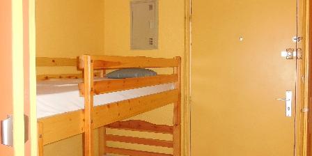 Location de vacances Appartement au Cap d'Agde pour petite famille > Coin nuit
