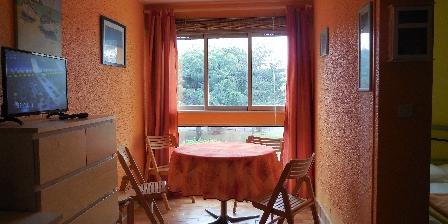 Appartement au Cap d'Agde pour petite famille Coin repas