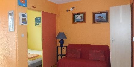 Appartement au Cap d'Agde pour petite famille Coin salon
