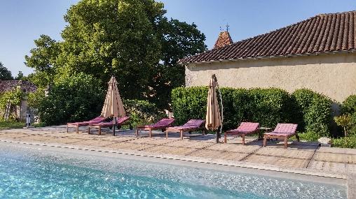Chambre d'hote Dordogne - Piscine familiale