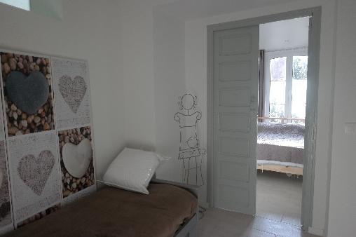 Chambre d'hote Calvados - Vue 2eme chambre