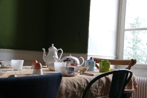 Chambre d'hote Loir-et-Cher - petit déjeuner bio