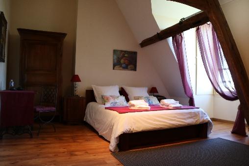 Chambre d'hote Indre-et-Loire - chambre Claude de France