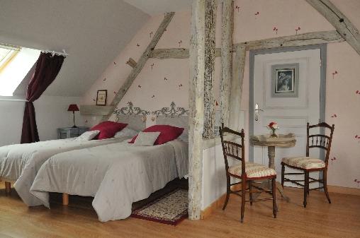 Chambre d'hote Eure-et-Loir - l'autre chambre pour deux ou trois personnes
