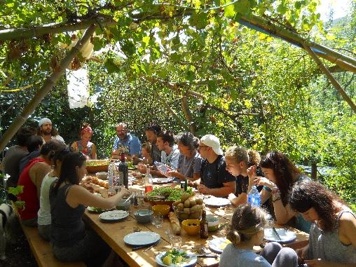 le jardin et sa table