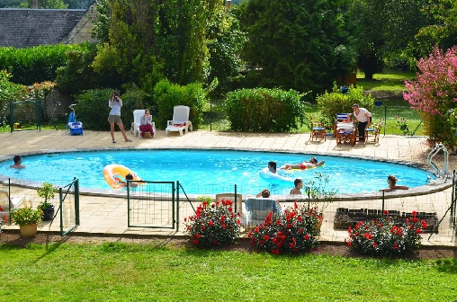 bed & breakfast Indre-et-Loire - the pool