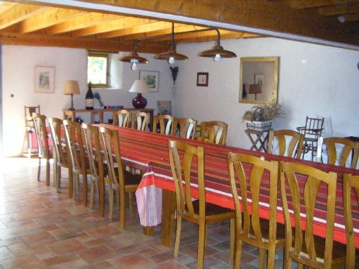 grande salle à manger