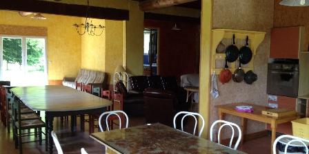 Gite Casa Arbores > Pièce à vivre gite 8,15 personnes Casa Arbores Jura