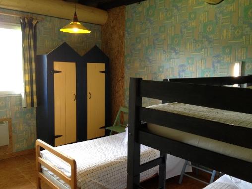 Chambre bleue Grand gite Casa Arbores Jura