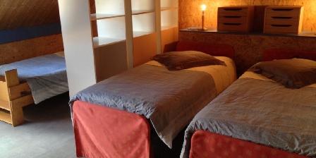 Casa Arbores Chambre 3 places étage Casa Arbores Jura