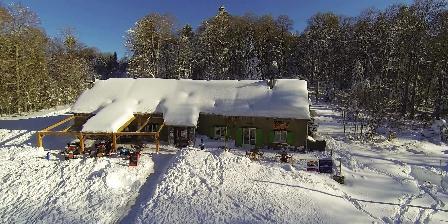Gîte Auberge La Soulan La Soulan sous la neige