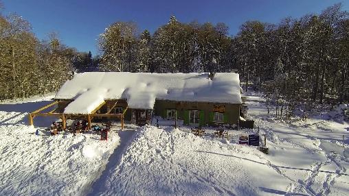 La Soulan sous la neige