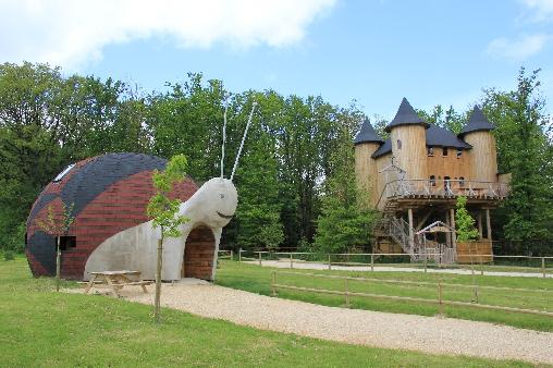 Chambre d'hote Vienne - Château et champignon