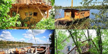 La Batelière Sur Loire Cabanes bord de Loire