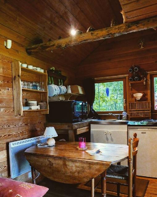 La cabane aux secrets une vraie maison dans les arbres