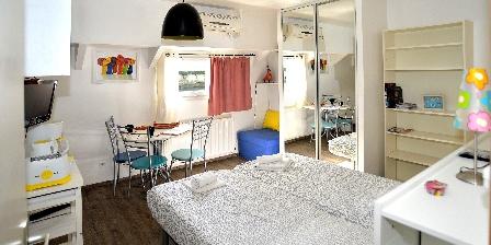 Location insolite studio péniche au coeur de Lyon