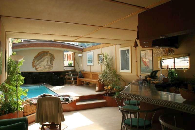 Studio p niche au bord de la saone lyon une chambre d 39 hotes dans le rh ne en rh ne alpes - Chambre d hote peniche paris ...
