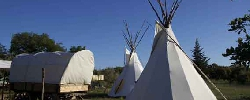 Bed and breakfast Tipis des Oliviers