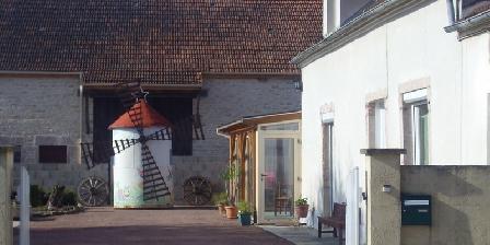 Au Moulin de Marie Entree du moulin