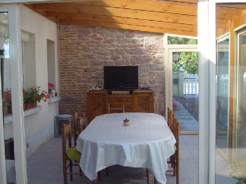Chambre d'hote Côte-d'Or - veranda