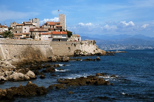 Antibes et ses remparts
