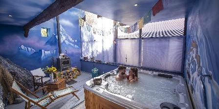 Au 2 Maison d'Hôtes Le Jacuzzi / Spa Himalaya