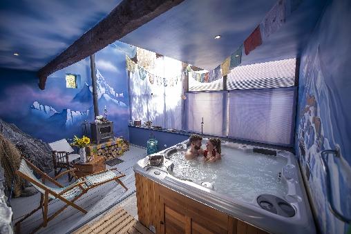 Chambre d'hote Oise - Le Jacuzzi / Spa Himalaya