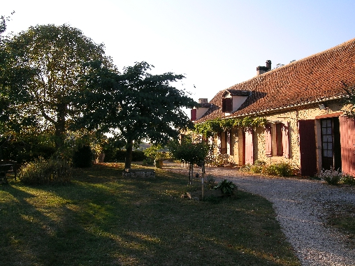 bed & breakfast Dordogne - guest house, south facing