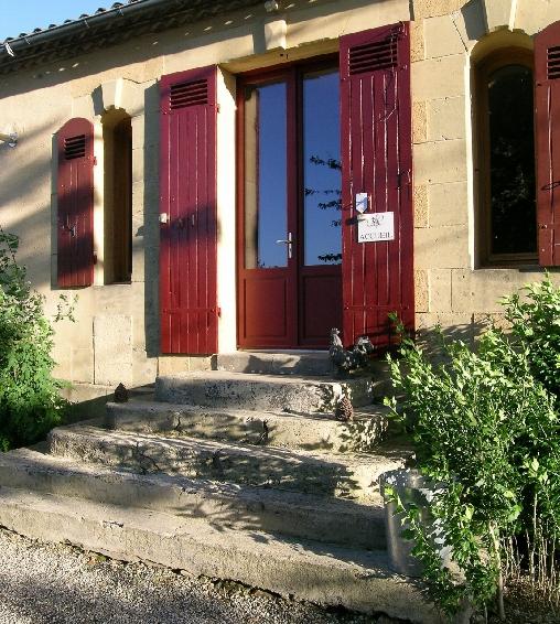 bed & breakfast Dordogne - the reception
